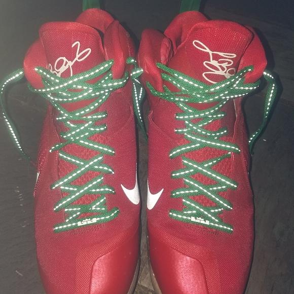 Nike Shoes Lebron James 9 Christmas Day Size 13 Poshmark